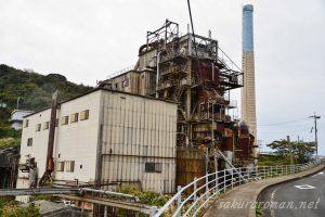 池島火力発電所跡
