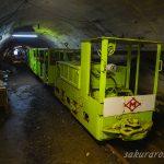 現在進行形の廃墟島、九州最後の炭鉱「池島炭鉱」(2)、坑内体験