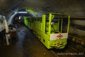 池島炭鉱トロッコ人車