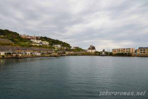 池島港(鏡ヶ池跡)