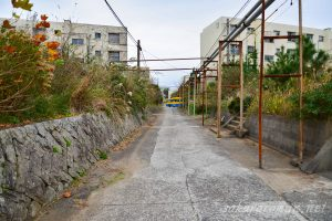 池島鉱員住宅街