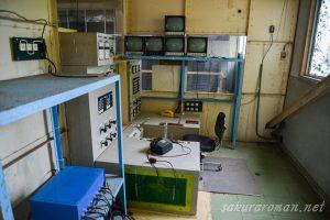池島炭鉱第二竪坑櫓巻き揚げ操舵室