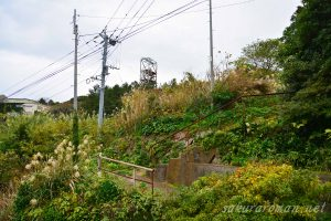 池島第一竪坑櫓