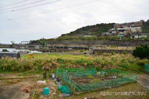 池島選炭施設(シックナー)