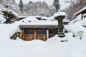 冬の山寺(立石寺)奥の院