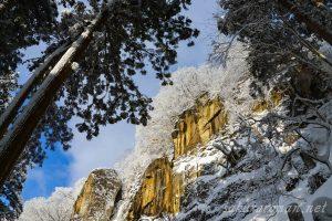 冬の山寺(立石寺)2
