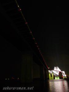 東京ゲートブリッジ(恐竜橋)夜景3