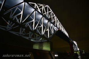 東京ゲートブリッジ(恐竜橋)夜景5