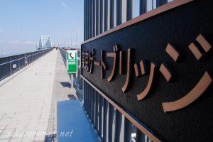 東京ゲートブリッジ(恐竜橋)中央防波堤側