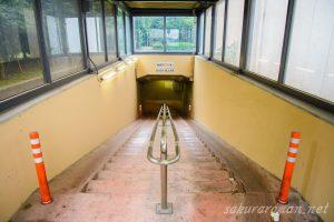 川崎港海底トンネル人道3