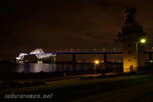 東京ゲートブリッジ(恐竜橋)夜景7