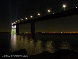 東京ゲートブリッジ(恐竜橋)夜景2