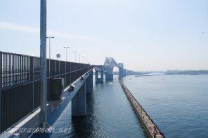 東京ゲートブリッジ(恐竜橋)若洲昇降施設側
