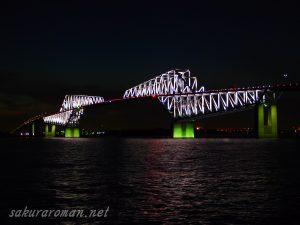 東京ゲートブリッジ(恐竜橋)夜景