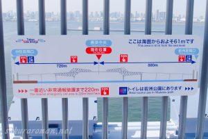 東京ゲートブリッジ(恐竜橋)橋梁中央