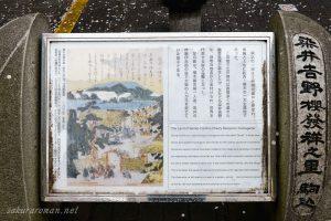 染井吉野桜発祥の里碑
